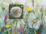 Desensibilisierung 2 (c) Löwenzahn Aquarell auf Leinwand von Frank Koebsch