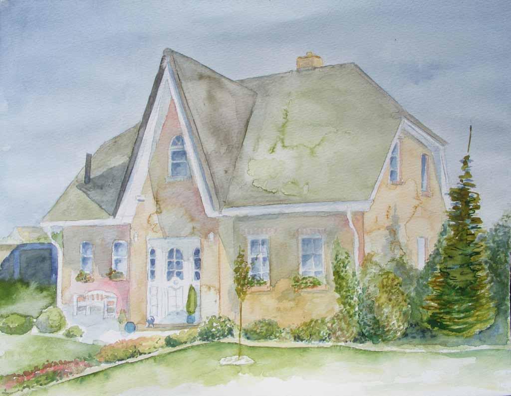 Hanningsaal - the house of our neighbor
