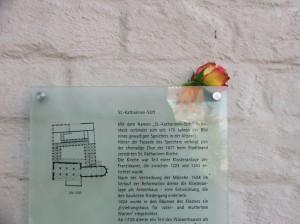 Tafel am Eingang der HMT (c) Frank Koebsch