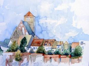 Stadtmauer bei der Nikolaikirche