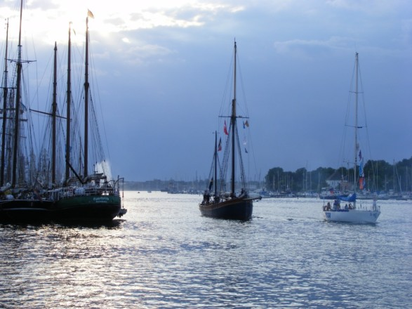 Hanse Sail - kleine und große Segler