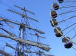 Hanse Sail - hoch hinaus