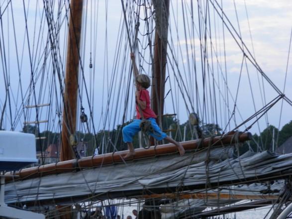 Hanse Sail - Ein kleiner Pirat