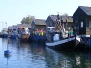 Kutter im Hafen von Gager