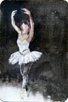 Dance (c) Miniatur in Aquarell von FRank Koebsch