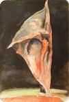 Faszination Ballett # 6 (c) Miniatur in Aquarell von FRank Koebsch