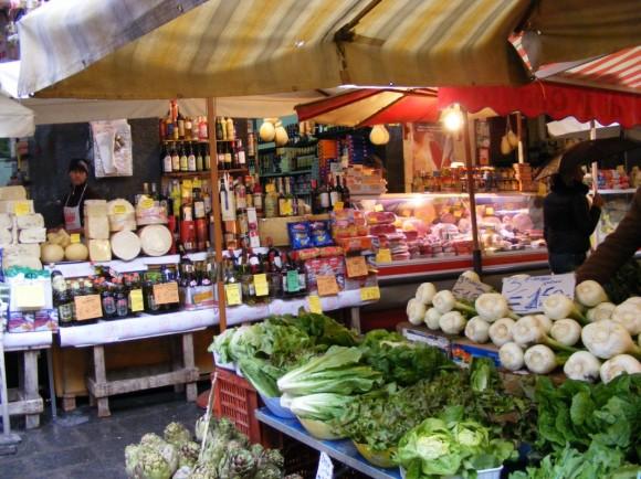 Gemüse und Käse