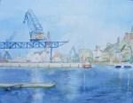 Haedgehalbinsel 2 (c) Aquarell von FRank Koebsch