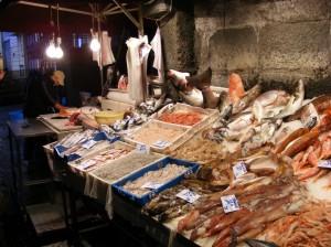 kleine Auswahl Fisch