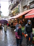 Straße vor dem Markt