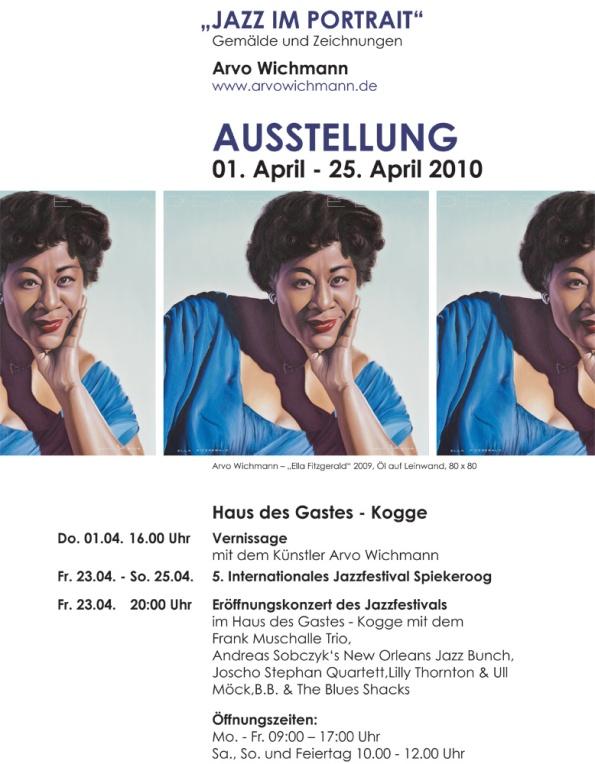 Ausstellung Arvo Wichmann auf Spiekeroog