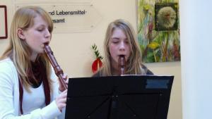 Schülerinnen der Kreismusikschule Flotow
