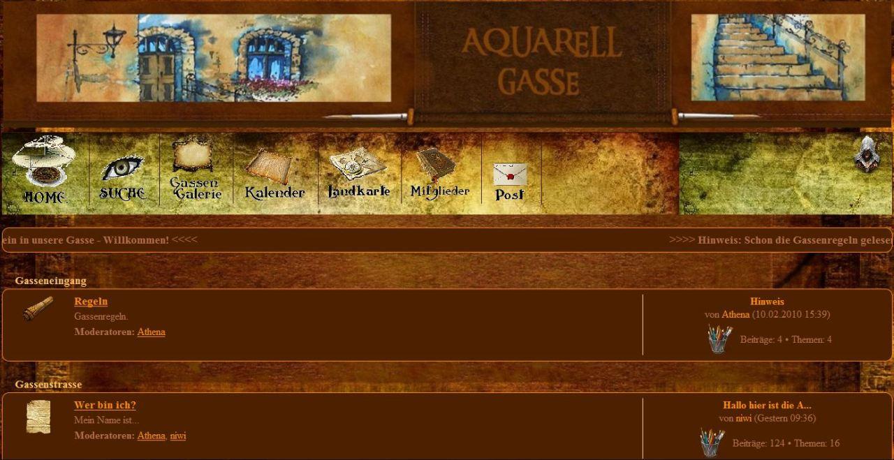 Aquarellgasse - ein Forum für Aquarellmaler