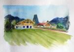 Haus am Tegernsee Skizze - Frank Koebsch (C)