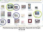 Positionierung Magnolien Aquarelle bei Google 10 von 36