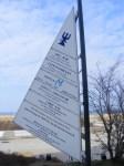 Wegweiser des Hotel Neptuns ohne Galerie