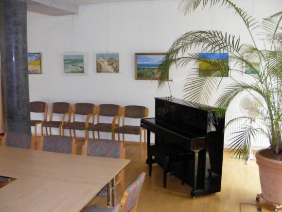 Ausstellungsraum im IBZ