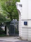 Eingang in Haus 22