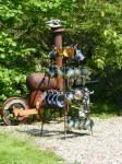 Im Garten von Friedemann Henschel (1)