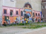Klasse Graffities und Wandmalerei in Rostock (2)