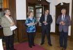 v.l.: Dr. Georg Diederich (Rundfunkrat), Hanka Koebsch, Frank Koebsch und Dr. Karl-Heinz Kutz (Rundfunkrat) © NDR