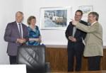 v.l.: Dr. Karl-Heinz Kutz (Rundfunkrat), Hanka Koebsch, Frank Koebsch und Dr. Georg Diederich (Rundfunkrat) © NDR