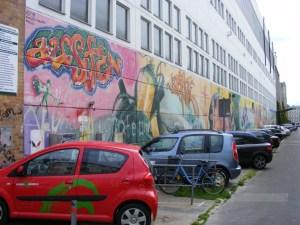 Graffiti in der KTV 11