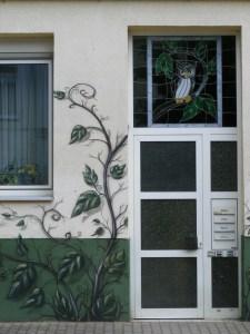 Graffiti in der KTV 4