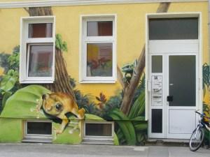 Graffiti in der KTV 5