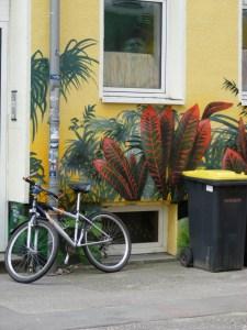 Graffiti in der KTV 6