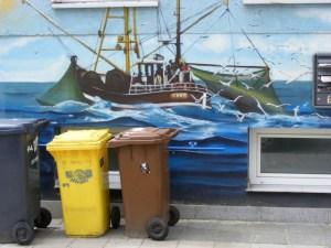 Graffiti in der KTV 7