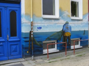 Graffiti in der KTV 8