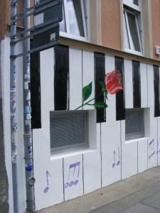 Graffiti in der KTV 9