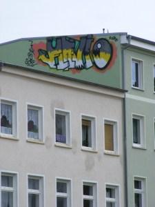 Graffiti in der KTV Schmiererei 1