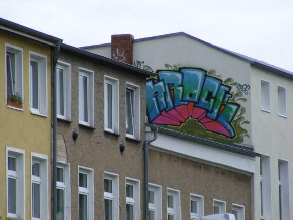 Graffiti in der KTV Schmiererei 2