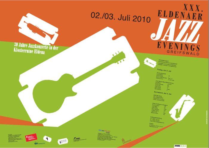 Plakat der Eldeaner Jazz Evenings (c) Geert Maciejewski