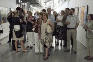 Besucher der Vernissage 3 (c) Ullli Schwenn