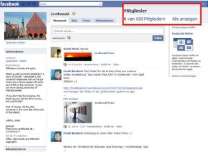 Greifswald in Facebook