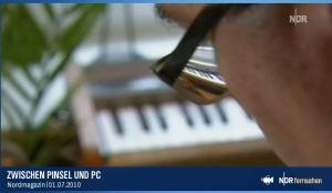 Musik vor Augen (c) NDR Nordmagazin 01.07.2010