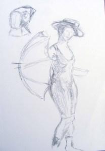 Skizze Badeleben (c) Frank Koebsch