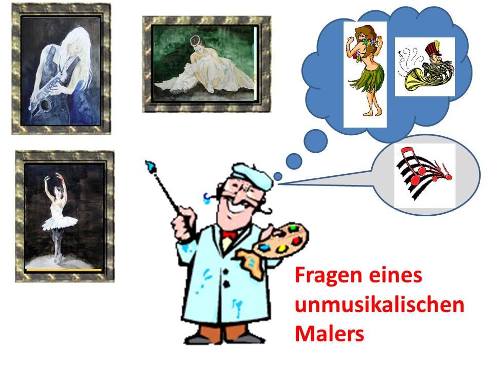 Fragen eines unmusikalischen Malers an den NDR