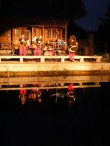 Licht Klang Nacht 2010 (10) beat´n blow im Chinesischen Garten