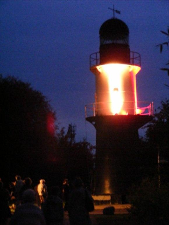 Licht Klang Nacht 2010 (8) - Leuchturm