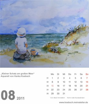 Kalenderblatt August 2011 (c) Hanka & Frank Koebsch