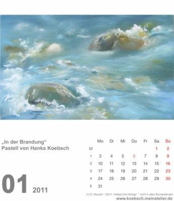 Kalenderblatt Januar 2011 (c) Hanka & Frank Koebsch