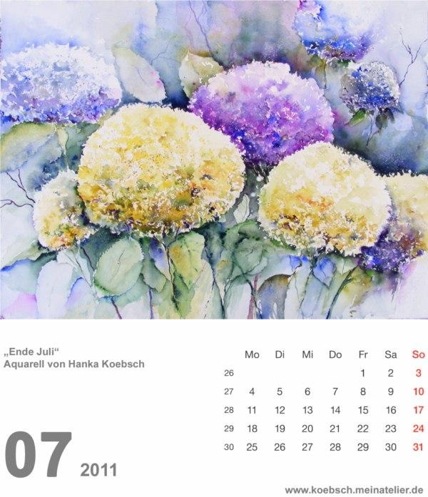 Kalenderblatt Juli 2011 (c) Hanka & Frank Koebsch