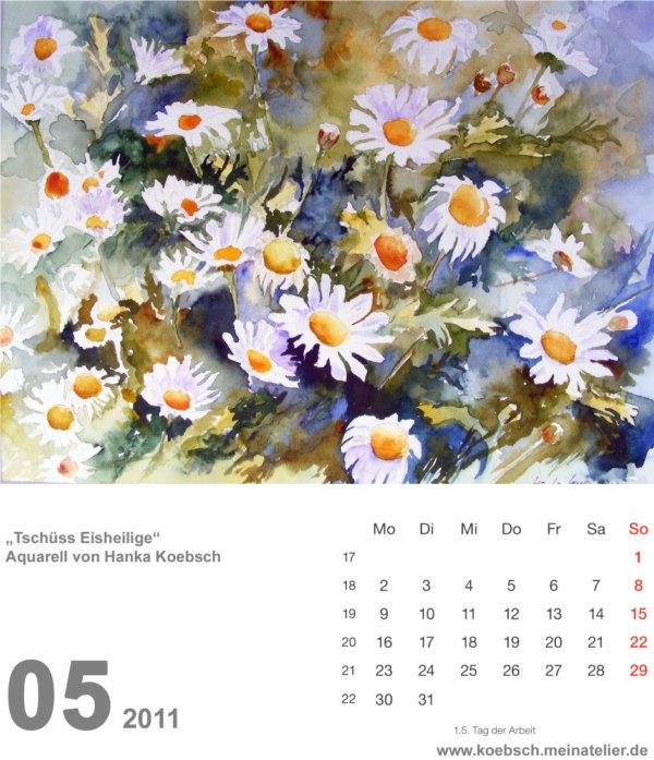 Kalenderblatt Mai 2011 (c) Hanka & Frank Koebsch