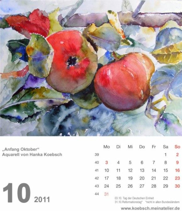Kalenderblatt Oktober 2011 (c) Hanka & Frank Koebsch
