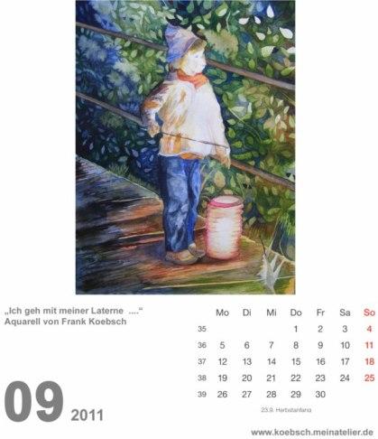 Kalenderblatt September 2011 (c) Hanka & Frank Koebsch
