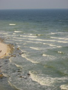 Ostsee vor den Kreidefelsen (c) Hanka Koebsch